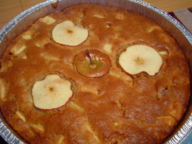 d7aad7a4d795d797d799d79d d7a1d799d79cd790d790d79f - עוגת תפוחים מקורמלים בניחוח קינמוני
