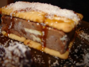 d7a7d7a1d798d794 d7a8d791 d7a9d795d7a7d795d79cd793 300x225 - עוגת מוס שוקולד - עוגת קיץ קפואה ונפלאה