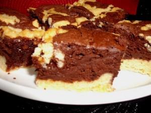 dscf8243 300x225 1 - עוגת מוס שוקולד אפויה