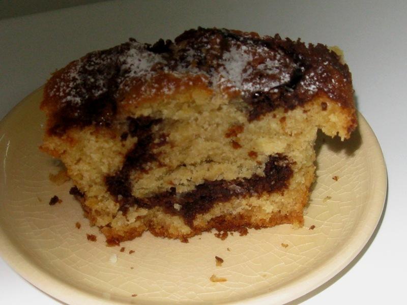 שוקולד רותי410 - עוגת קוביות שוקולד וחלבה