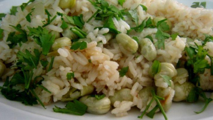 פול ועשבי תיבול 1 730x410 - אורז עם פול ירוק