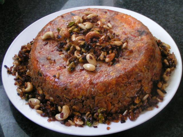 אורז רננות - מאפה אורז עם ירקות משודרג עם בשר