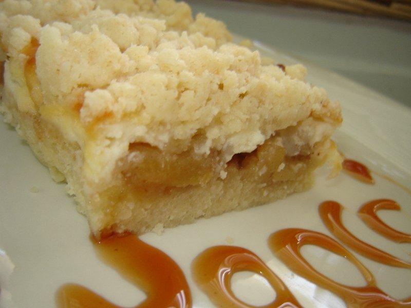 d7aad7a4d795d797 d792d791d799d7a0d794 - עוגת תפוחים גבינה ושטרוייזל