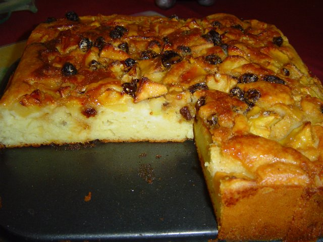 פרוסה - עוגת פירות יבשים-גבוהה