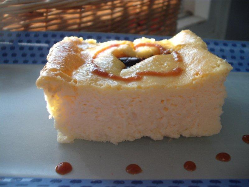 שוקולד חלב3 - עוגת גבינה לפסח