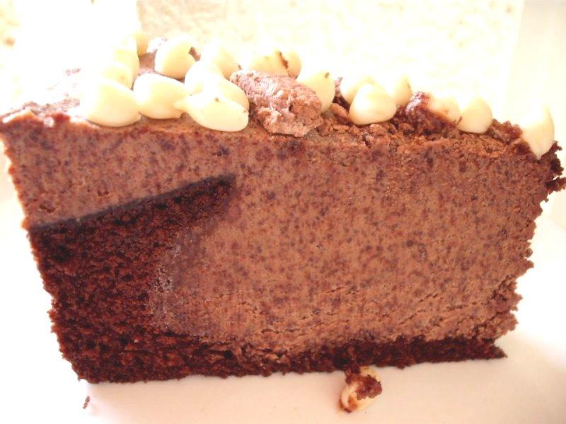גלידה - עוגת שוקולד עם גלידה