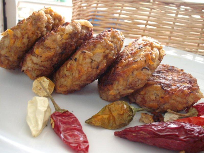 dscf2026 800x600 - קציצות ירקות בשר ואורז