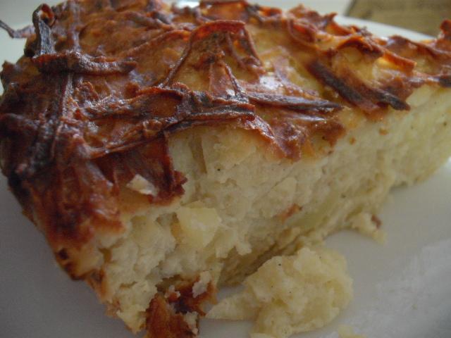 תפוחי אדמה - קוגל תפוחי אדמה-אפוי