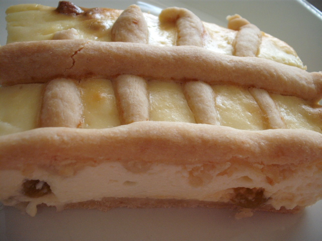 DSCF3628 - עוגת גבינה שתי וערב