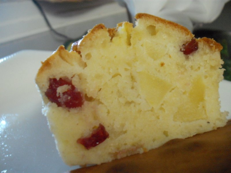 dscf4349 800x6001 - עוגת תפוחים גבינה ופירות יבשים