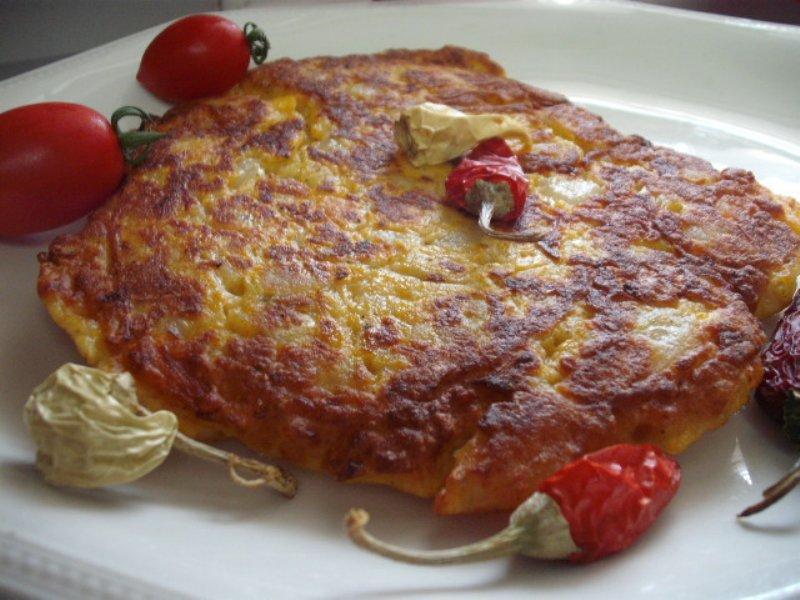 1 - פריטטה תפוחי אדמה שקדים וגבינה
