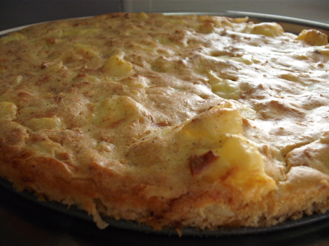 DSCF5459 - מאפה תפוחי אדמה עם שמנת ובצל