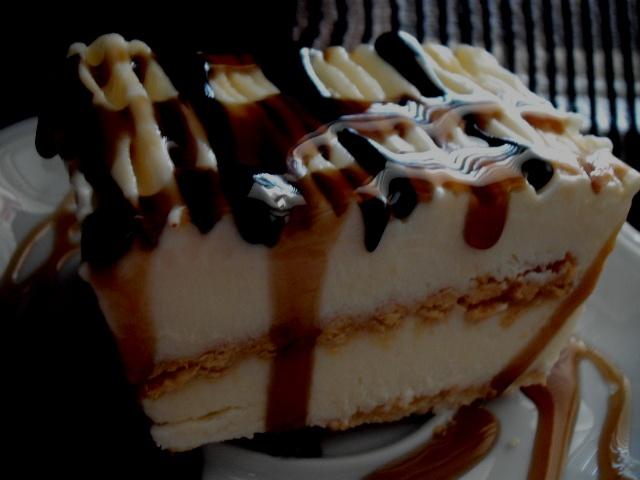 dscf7823 1 - עוגת ביסקוויטים גבינה ודבש