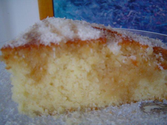 קלמנטי מייפל - עוגת סולת פריכה