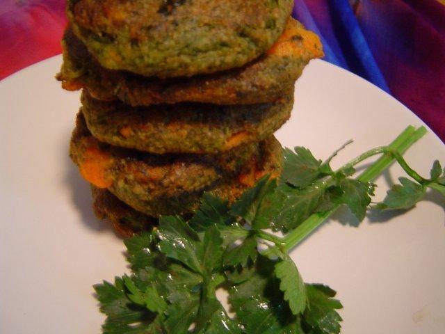 מרק - לביבות ירקות אפויות