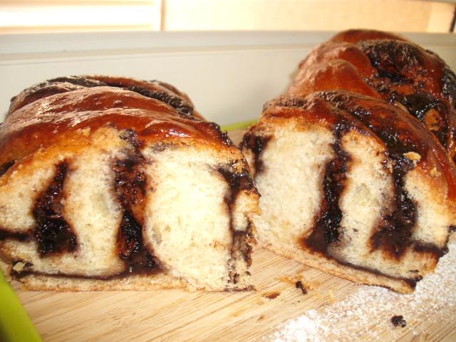 DSCF8547 - עוגת שמרים ממולאת -  מופחת סוכר