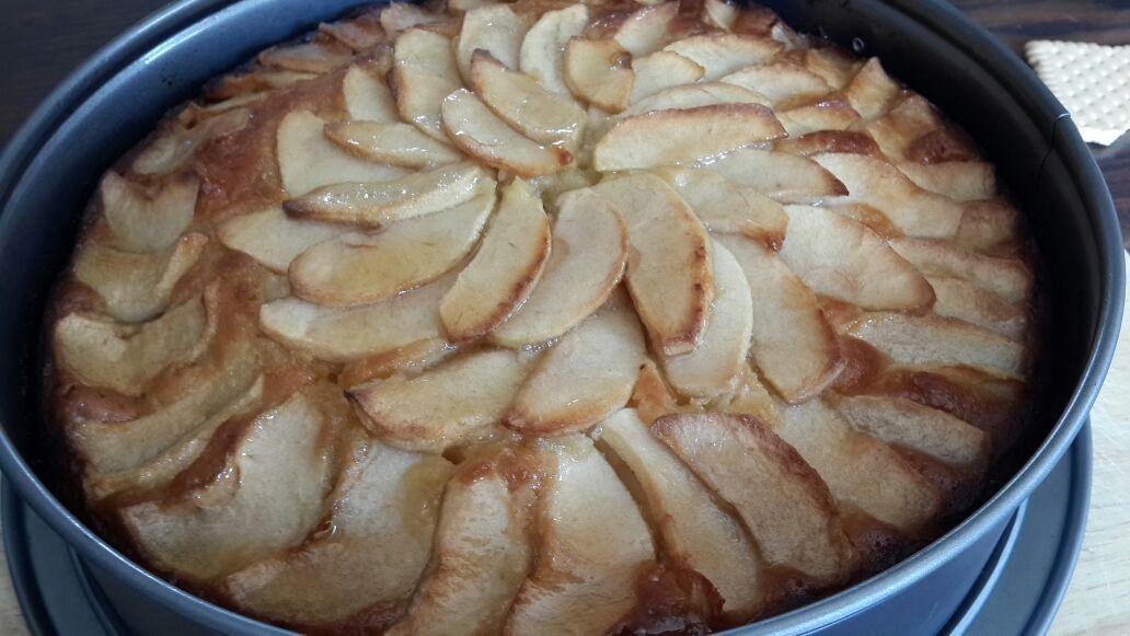 2 - עוגת פרח תפוח ודבש
