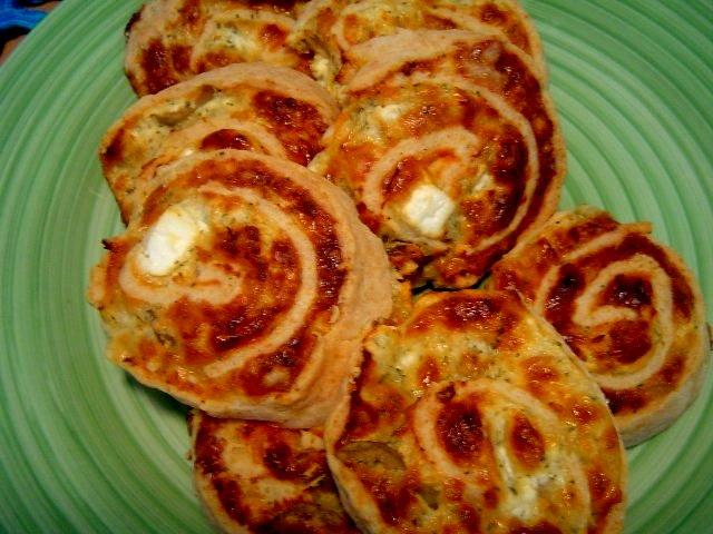 פיצה חדש - שבלולי פיצה מהירים