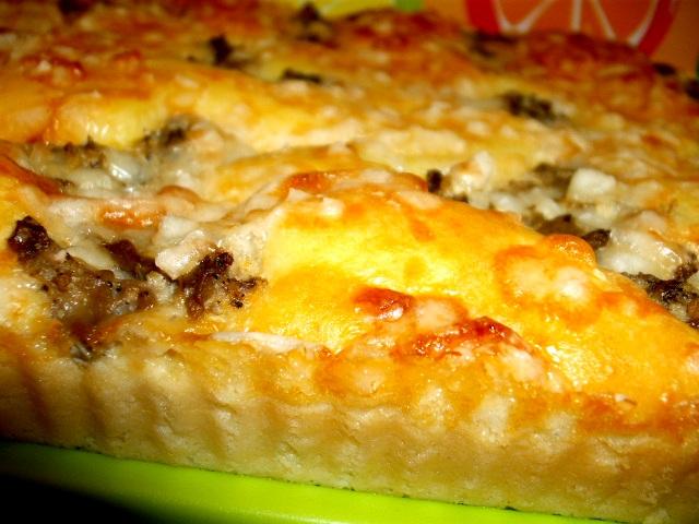 DSCF8447 - פשטידת גבינה במלית חצילים בטעם כבד