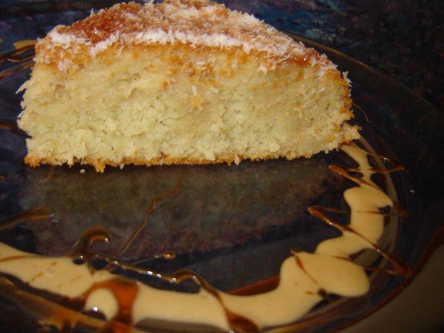 קלמנטינות קומונה - עוגת קוקוס ולימון