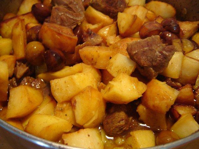 d7a1d795d7a4d7a8d799d798d795 - סופריטו - נתחי בשר בקר וקוביות תפוחי אדמה