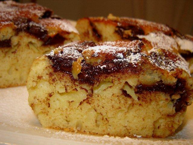 d79ed799d7a5 d7a7d795d791d799d795d7aa d7a9d795d7a7d795d79cd793 - עוגת דבש תפוחים ושוקולד