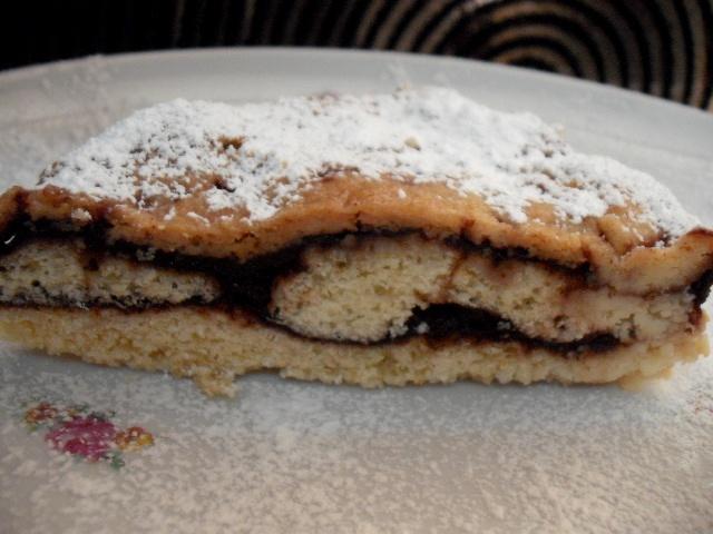 dscf8115 - עוגת שכבות נוסטלגית