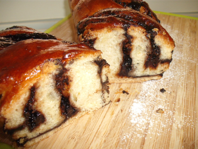 dscf8548 - עוגת שמרים שוקולדה מופחת סוכר