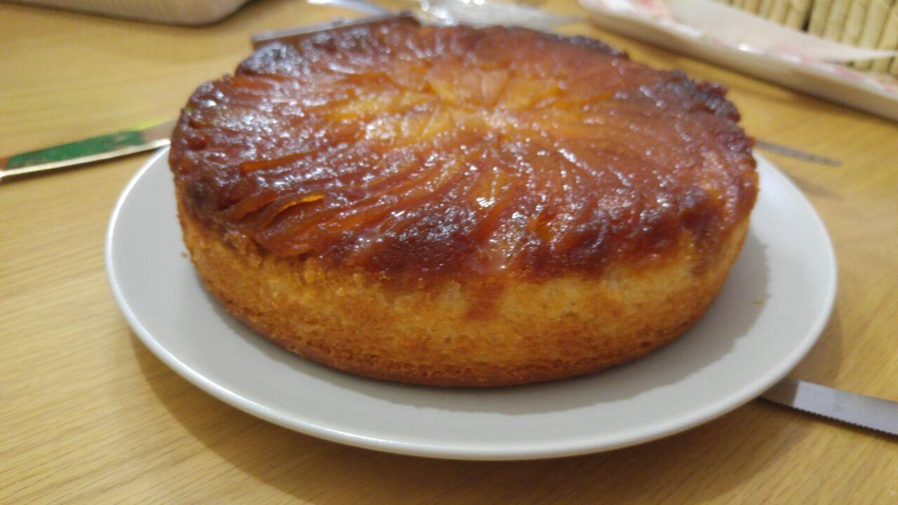 578 - עוגת תפוחים וקלבדוס